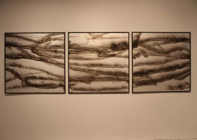 Silver Landing Triptych 12' x 4'