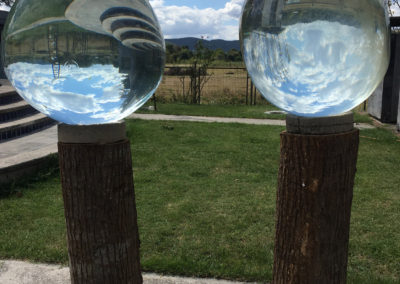 """Aqua spheres 6' x 28"""""""