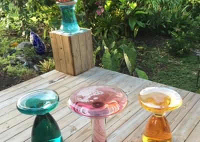 Aqua Stools Table